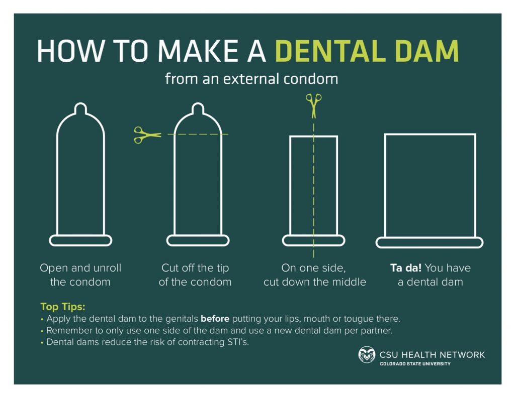 dental dam for sex trojan in Providence